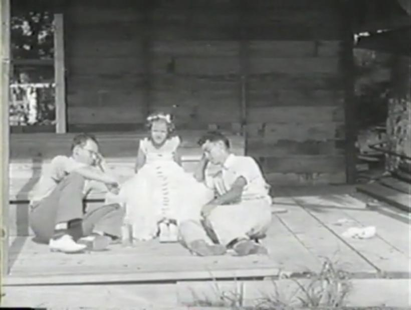 Gareth Long, San Marcos, Texas version (1943) of The Kidnappers Foil, filmed by Melton Barker, Photo courtesy of the Texas Archive of the Moving Image