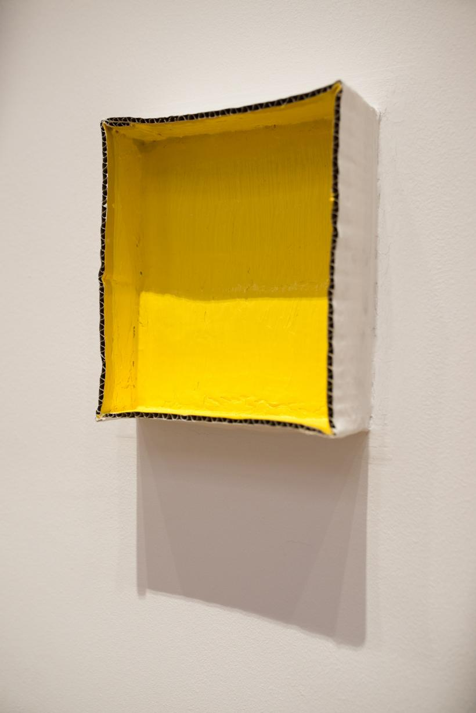 Artes Mundi 6, National Museum, Carlos Bunga: Exodus, installation view (2014)