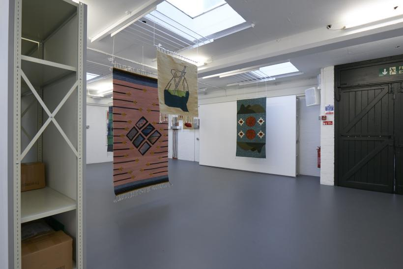 fig-2: Laura Eldret, installation view