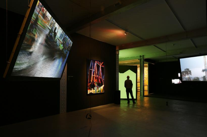 'Never Never Land', installation view at EAO.Projects, London