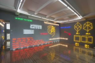 Installation view, Joseph Kosuth, 'Amnesia: Various, Luminous, Fixed', Sprueth Magers London