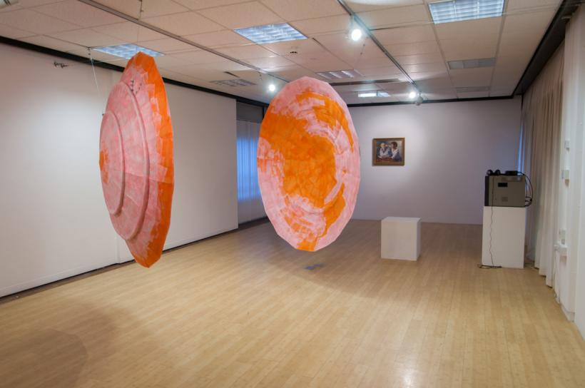 Past Caring, Installation View at Gallery II, Bradford, 2014