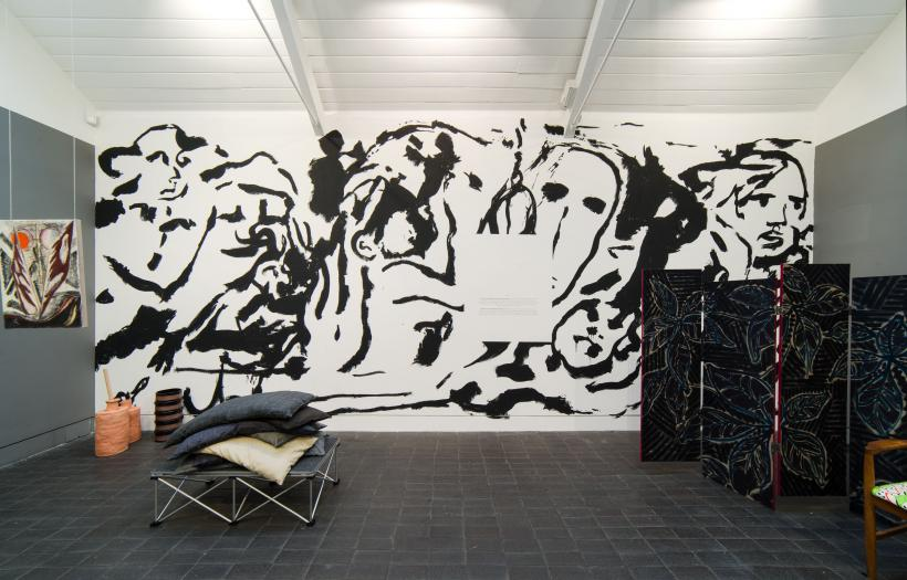 'Jerwood Encounters: The Grantchester Pottery paints the stage' (2015), Installation View, Jerwood Space