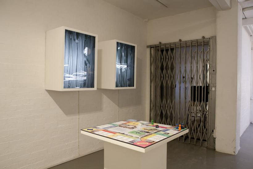 Idit Elia Nathan, 'Footnotes Playing Dead', installation view at Standpoint Gallery, London