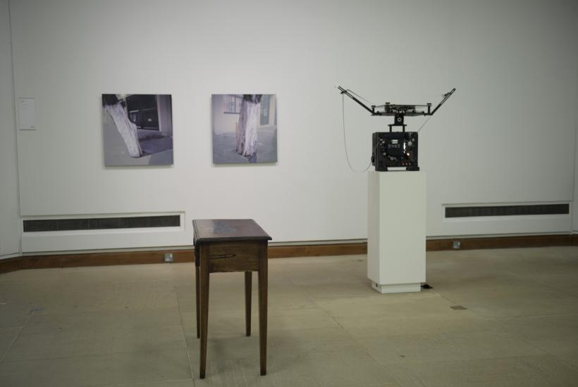 Lucy Skaer, installation view at The Hunterian Art Gallery, Glasgow 2014/15