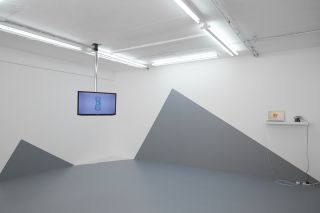 Installation view, Space in Between