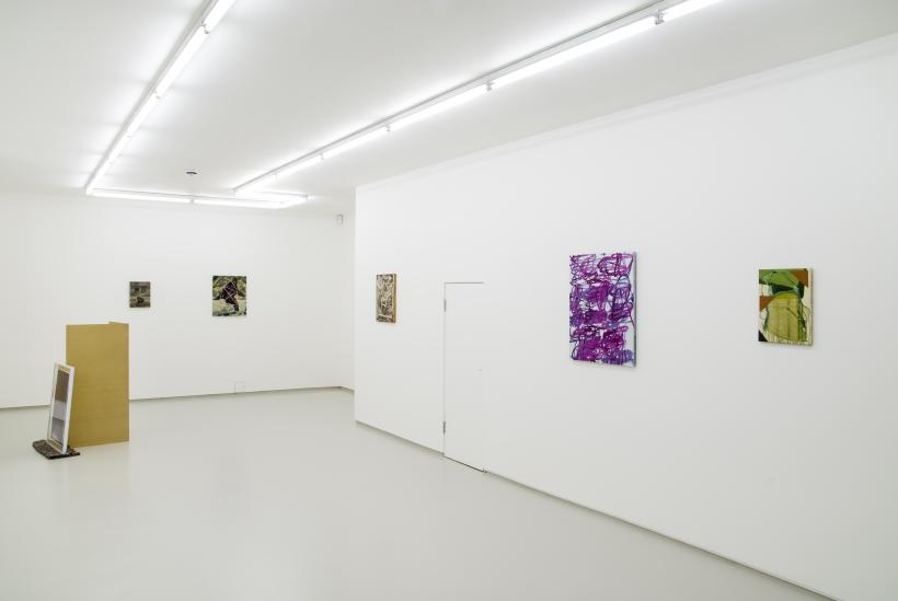 Promise of Palm Trees, installation view