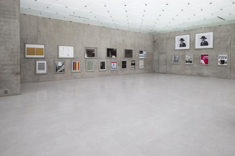 Installation view 1st floor, Kunsthaus Bregenz
