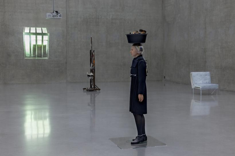 The Critic, Installation view 3rd floor, Kunsthaus Bregenz