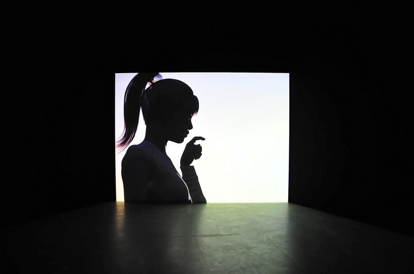 LaTurbo Avedon, Commons, installation view at CAPTURE ALL, transmediale 2015