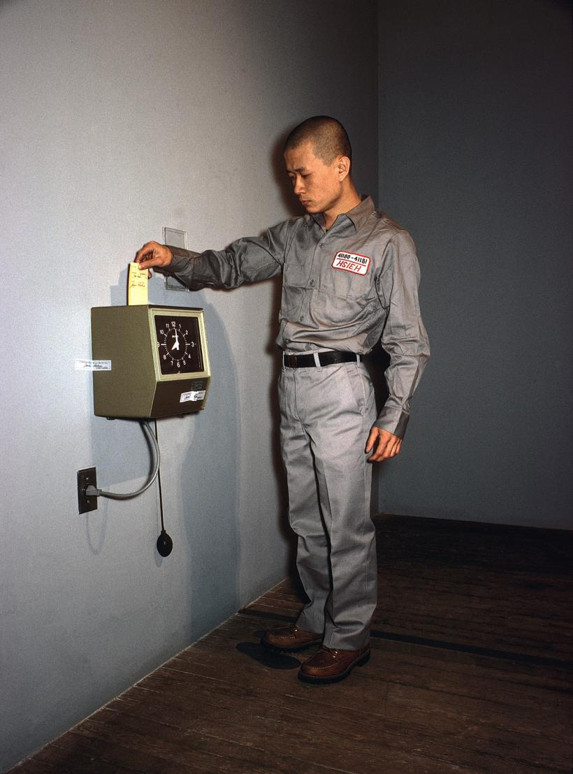 Tehching Hsieh, One Year Performance 1980-1981 Punching the Time Clock