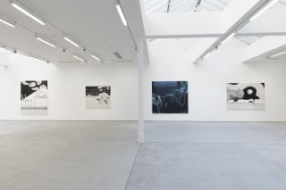 Installation view, Wilhelm Sasnal, Sadie Coles HQ