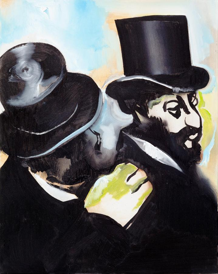 Jews (after Degas)