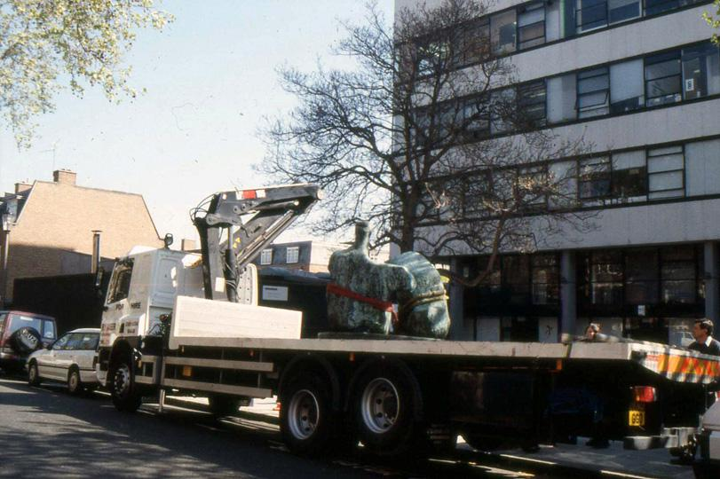 8 Flatbed truck 1996
