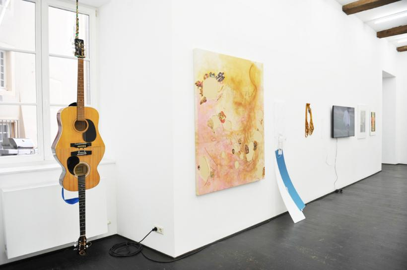 Dear Luxembourg (yours, bucktoothed grl) Exhibition view at Nosbaum Reding, Luxembourg, 2015
