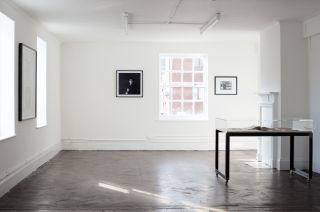 Installation view, A Man Called Burroughs