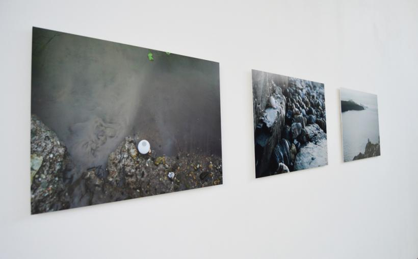 Thin Place, installation view at Oriel Myrddin, 2015