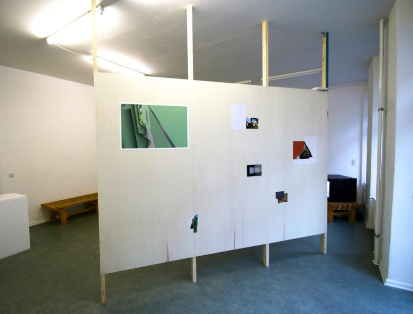 The Absolute Outside, Installation view at Spor Klübü (2015)
