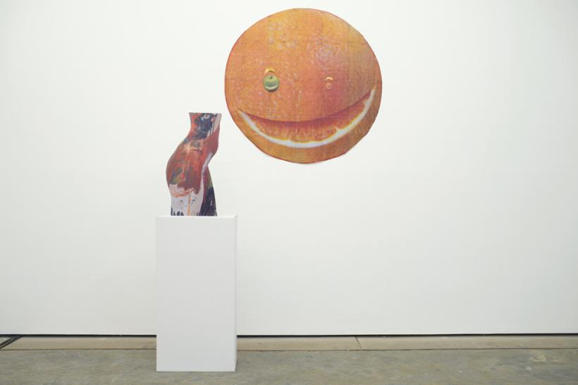 EXHIBITION, installation view at Workplace Gallery (2015)