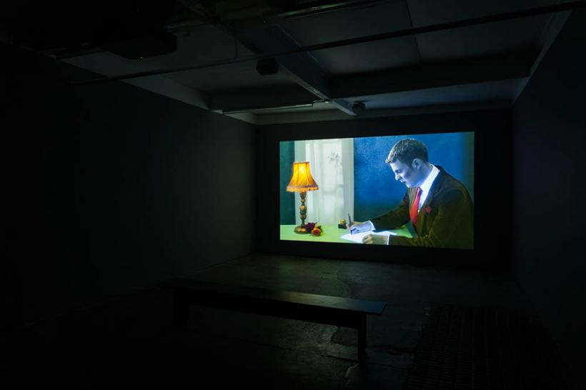 Rachel Reupke, Letter of Complaint, February 2015, Installation view, Cubitt Gallery,