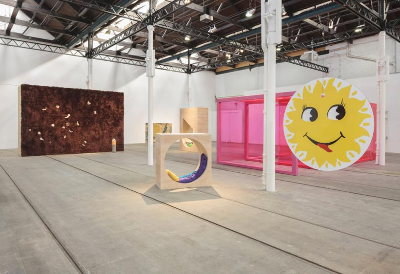 Laura Aldridge, California wow! installation view at Tramway (2015)