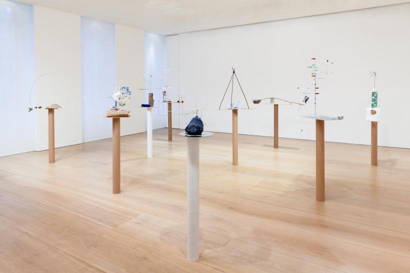 Installation view, Model Series