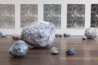 Installation view, Stone Series