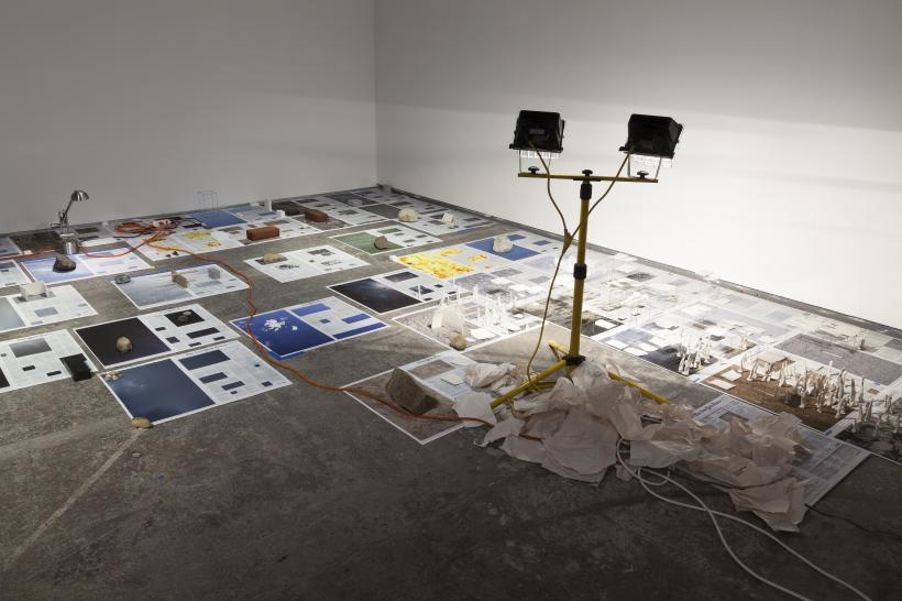 Installation view, Calendar Series