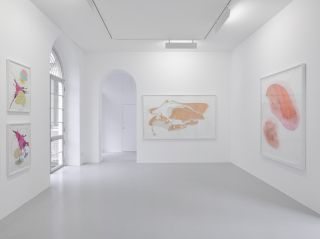 Jorinde Voigt: Salt, Sugar, Sex Installation view, Lisson Milan, 2015