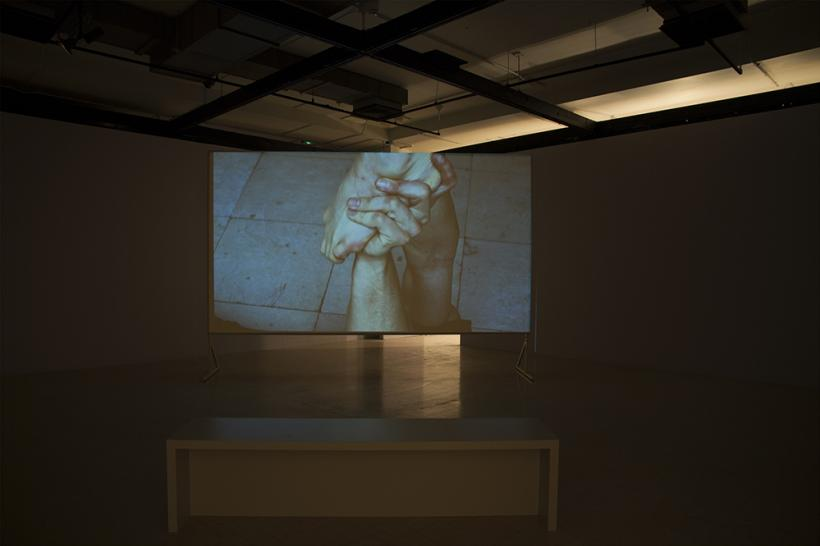 The Decorator and the Thief (...) installation view at NGCA, 2015