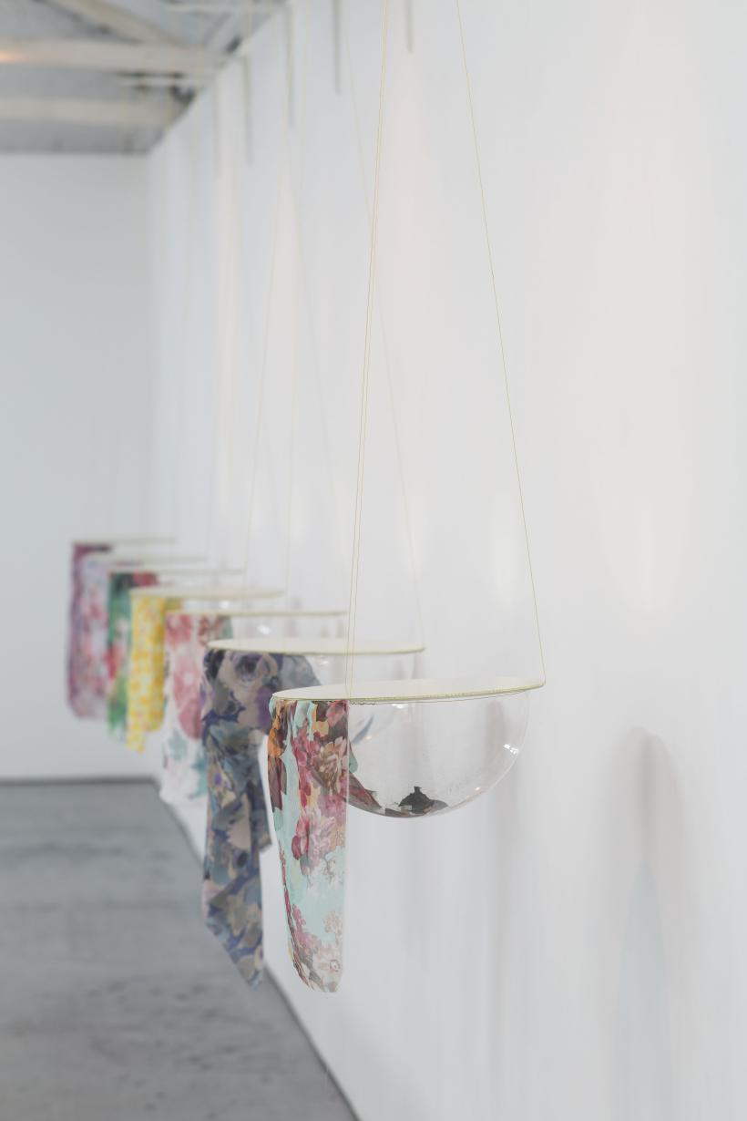 Pansy Basket, installation view