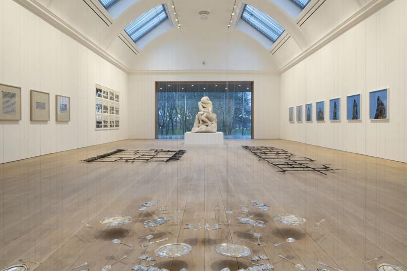 Central Exhibition Gallery, Cornelia Parker's exhibition, The Whitworth, 2015