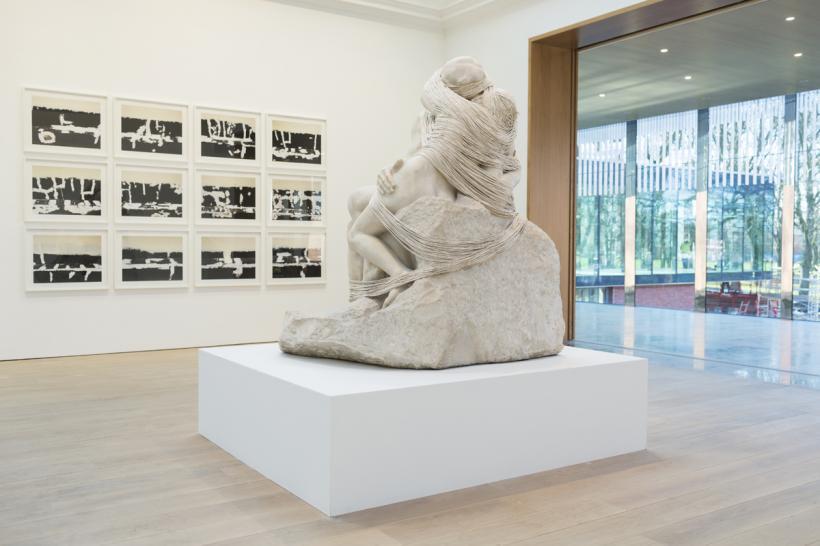 Central Exhibition Gallery, Cornelia Parker's exhibition, The Whitworth, 2015
