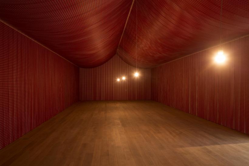 Cornelia Parker, War Room, Installation view at The Whitworth, 2015