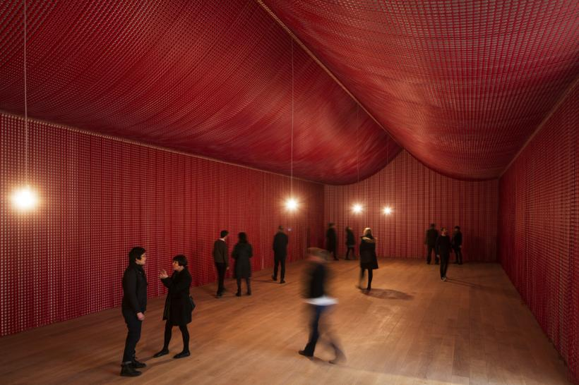 Cornelia Parker, War Room, Installation view at The Whitworth, 2015