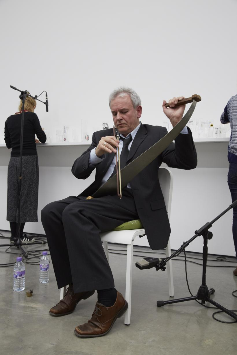 Singing Saw & Glass Harp, solo exhibition, White Cube Bermondsey