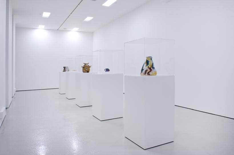 Jesse Wine, Young man red (installation view), BALTIC Centre for Contemporary Art, Gateshead, 2014