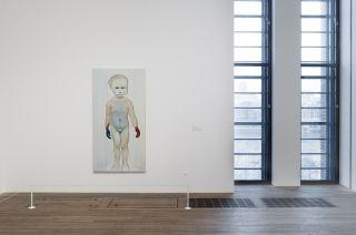 The Painter. The Museum of Modern Art New York. Copyright Marlene Dumas