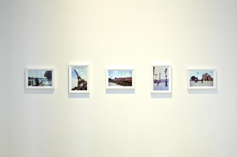 Installation view with Going to Hungary with HANGARI (Documents)
