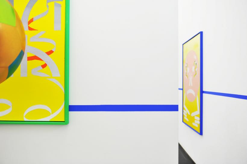 Jakup Auce, Lazy Boy, Exhibition view  Nosbaum Reding, Luxembourg, 2015
