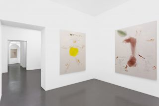 Writing, Installation view at T293 Napoli