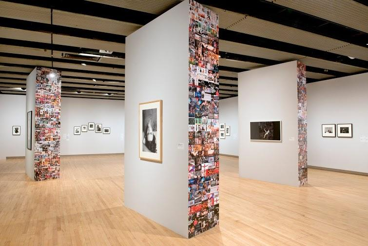 Installation View Hannah Starkey's curated section at Hayward Gallery, History Is Now: 7 Artists Take On Britain.