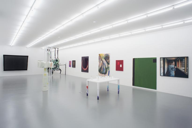 YES WE'RE OPEN: group show, Installation view at Giò Marconi, Milan, 2015