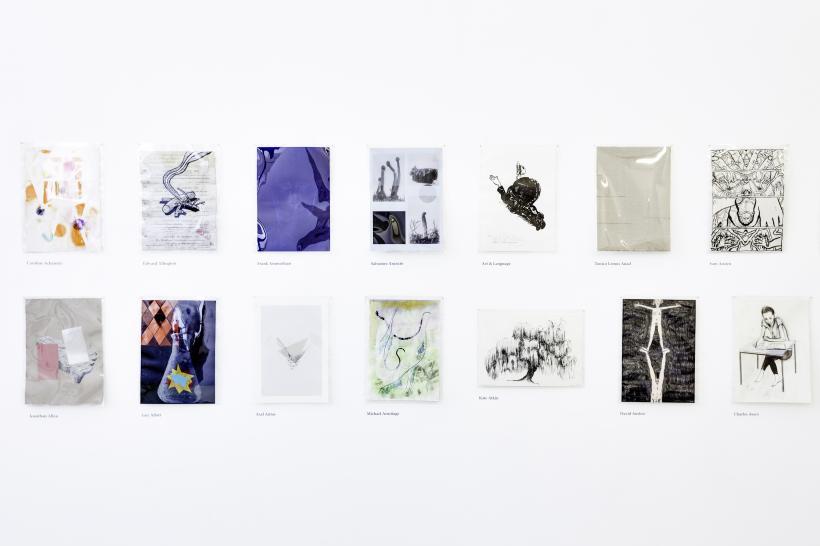 Drawing Biennial, Installation View