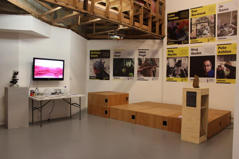 Live: R&D Installation View, Birmingham Open Media, 10 March - 1 May 2015