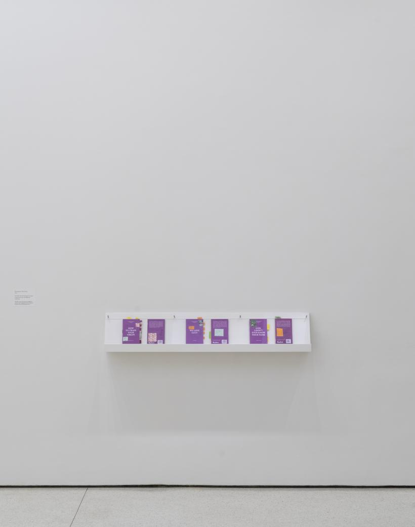 Paul Chan, Prototypes for New Lovers, 2015. Installation view: The Hugo Boss Prize 2014: Paul Chan, Nonprojections for New Lovers, Solomon R. Guggenheim Museum, New York
