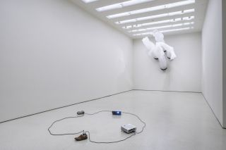 Installation view: The Hugo Boss Prize 2014: Paul Chan, Nonprojections for New Lovers, Solomon R. Guggenheim Museum, New York