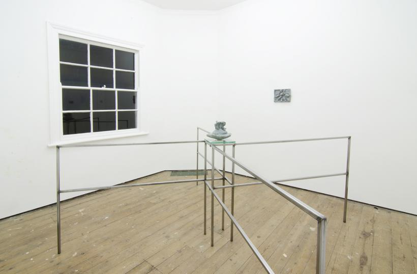 Installation view of Occasional Table #2: Dan Arps Primer Series, December 13th - January 10th