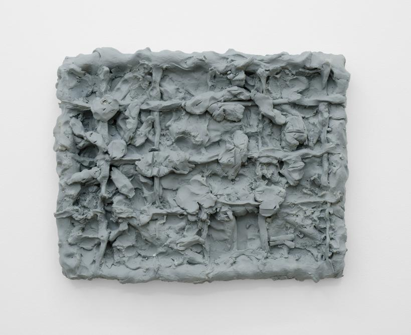 Dan Arps Painting for Welfare Office, 2014, polyurethane resin from Occasional Table #2: Dan Arps Primer Series, December 13th - January 10th