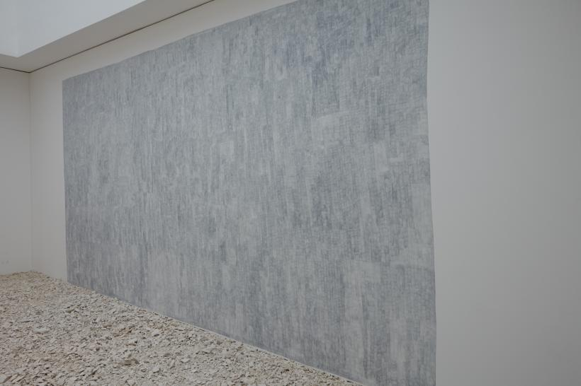 Installation view (wall drawing)